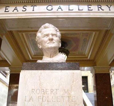Bust of La Follette