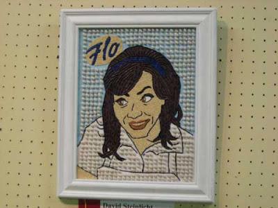 Dark-haired waitress named Flo