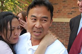 Koua Fong Lee and his wife react to hearing that all charges are dropped