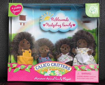 Calico Critters hedgehogs