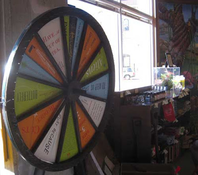Wheel of Fortune-like wheel with multiple answers