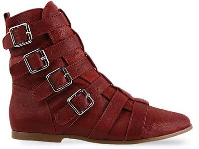 Jeffrey Campbell shoes Biz  Wine  010604 - Sert ve �zg�r
