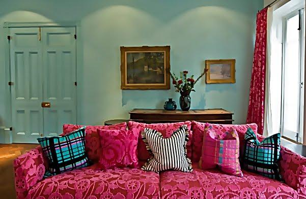 Large and Colouful House on Portland Road in London 3 - Renkli Ya�am Alanlar� Sevenler ��in Rengarenk D��enmi� Bir Ev