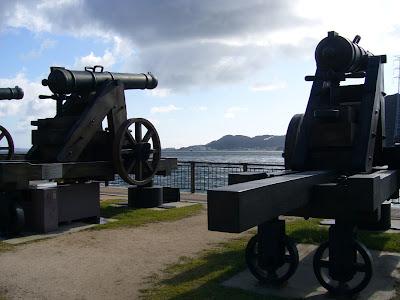 長州砲のレプリカ