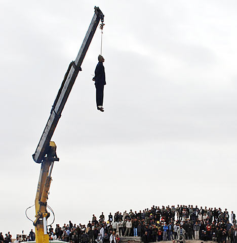 Iran Dismembers and Executes Alleged Theives and Sex Offenders