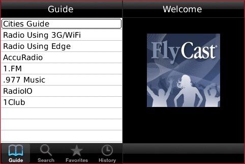 برنامج FlyCast للحصول أكتر 2000 راديو flycast1.jpg
