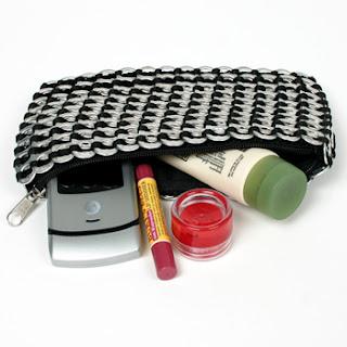 Aluminum handbag