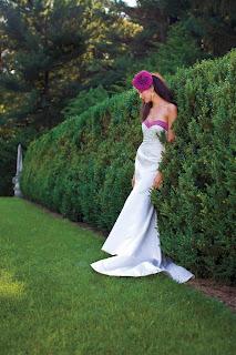 Alfred Angelo Pink Wedding Dress