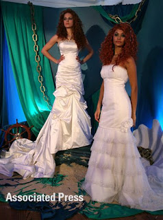 Disney Fairy Tale Wedding Dresses: Ariel