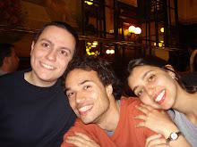Com Romain e Renata, em Paris (Cu Romain și Renata, în Paris)