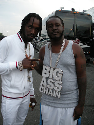 T Pain Chains. MAVADO, T PAIN AND A BIG ASS