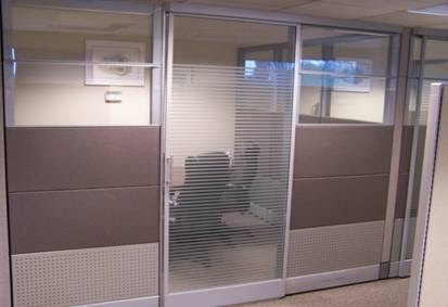 Pros install 39 s tips for your business ethospace cubicles for Pros and cons of sliding glass doors