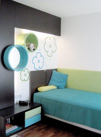Ideas para decorar de tu habitaci n fotos y dise o de for Dormitorio turquesa