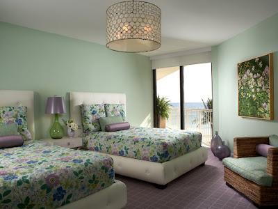 Fotos y dise o de dormitorios todos los estilos fotos for Dormitorio verde agua