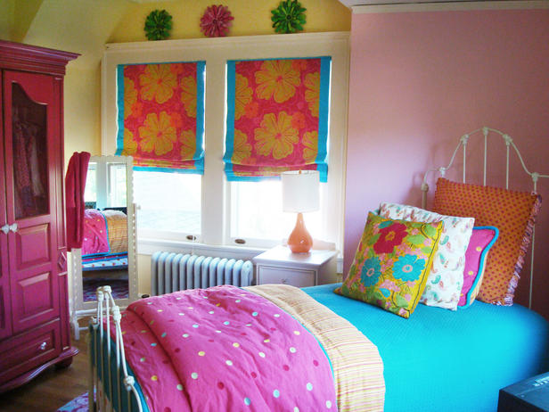 Colorful Teen Girl Bedroom Ideas