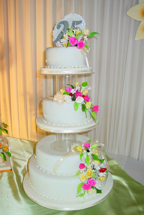 Torta Bodas de Plata