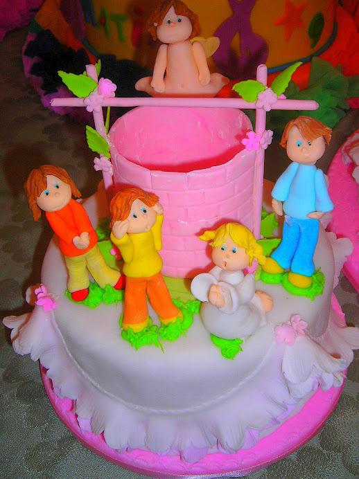 Torta Bautizo BB