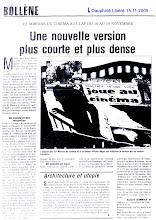 Dauphiné Libéré une nouvelle version 2005