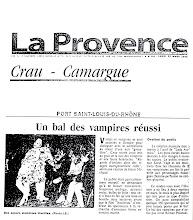 La Provence un bal des vampires réussi Port St Louis 1998