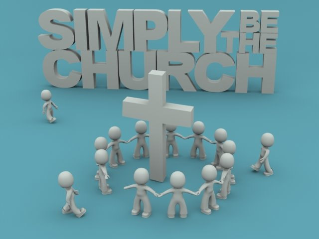 SimplyBeTheChurch
