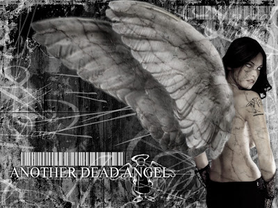 Gothic Wallpaper: Source url:http://daymix.com/Gothic-Angel-Tattoo/
