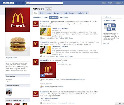 social media in marketing mcdonalds As one of the most successful businesses and most recognizable brands in the world, mcdonald's is no stranger to the particulars of marketing and pr but how does the company manage social media rick wion, director of social media for mcdonald's, spoke with pr daily about the ways the golden.