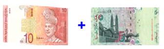 MODAL RM15, KOMISYEN 100% MILIK ANDA