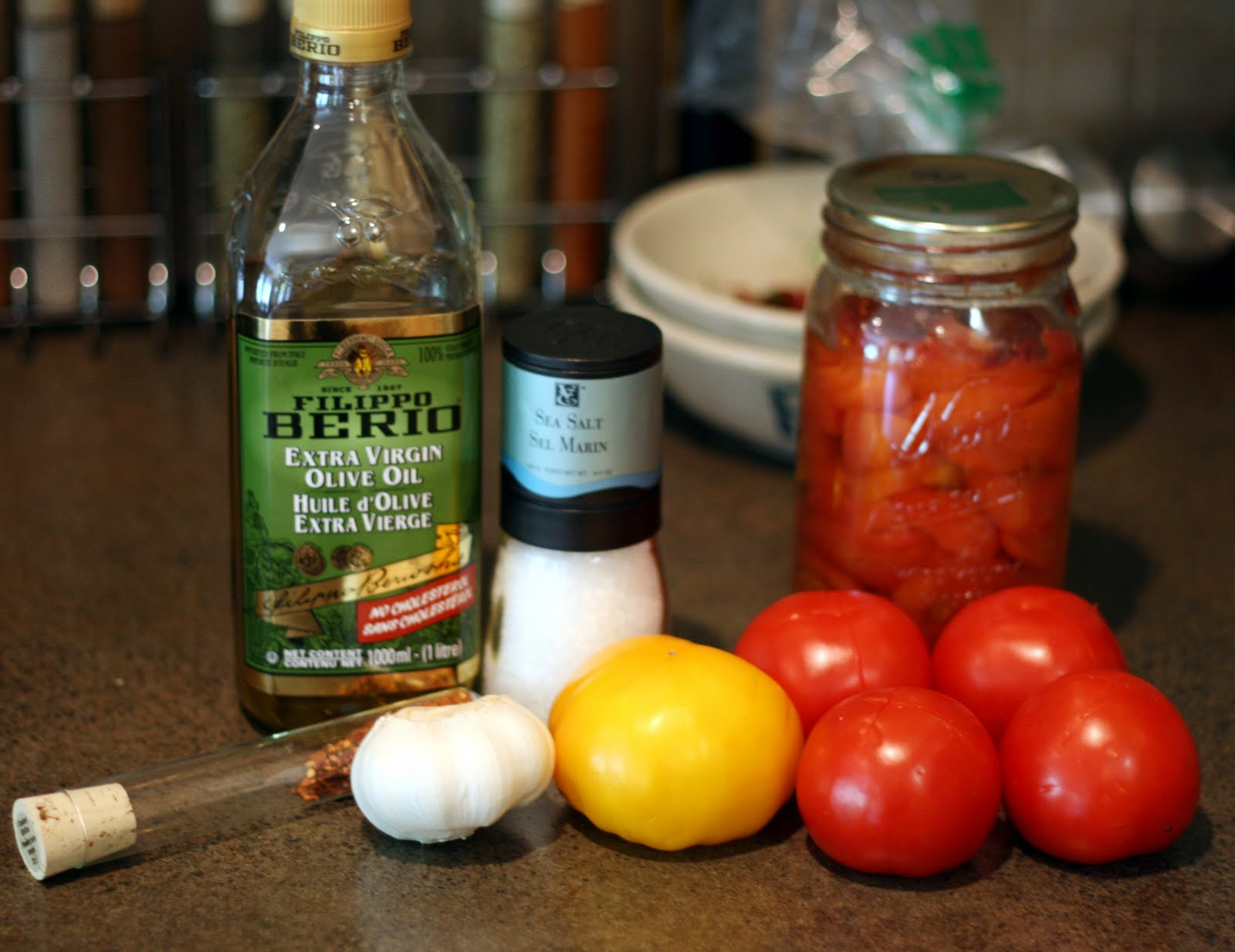 Jill's Test Kitchen: A Little More Than Five Minute Tomato Sauce