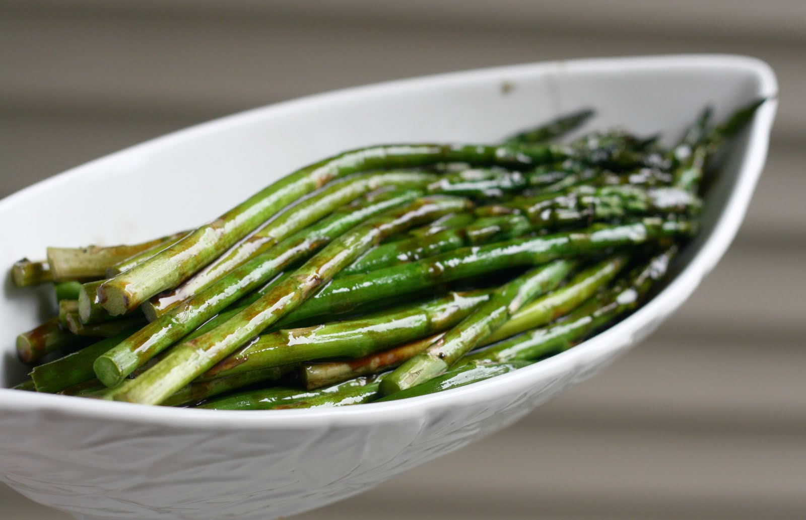 ... Test Kitchen: Roasted Asparagus with Balsamic Brown Butter Sauce