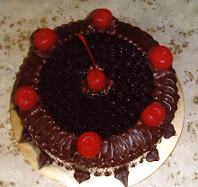 MOIST CHOCOLATE CAKE WITH CHERRY