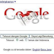 Google Rayakan Kemerdekaan HUT RI