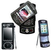 Ponsel, Smartphone, PDA, dan Pocket PC