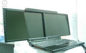 Laptop Layar Ganda