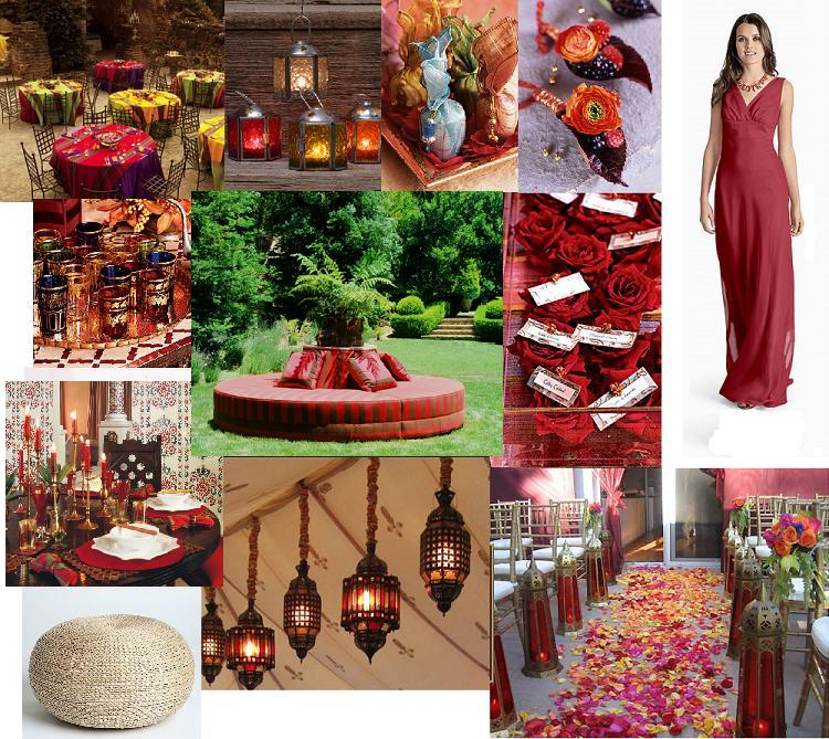 Moroccan Themed Fall Wedding There is nothing more refreshing then