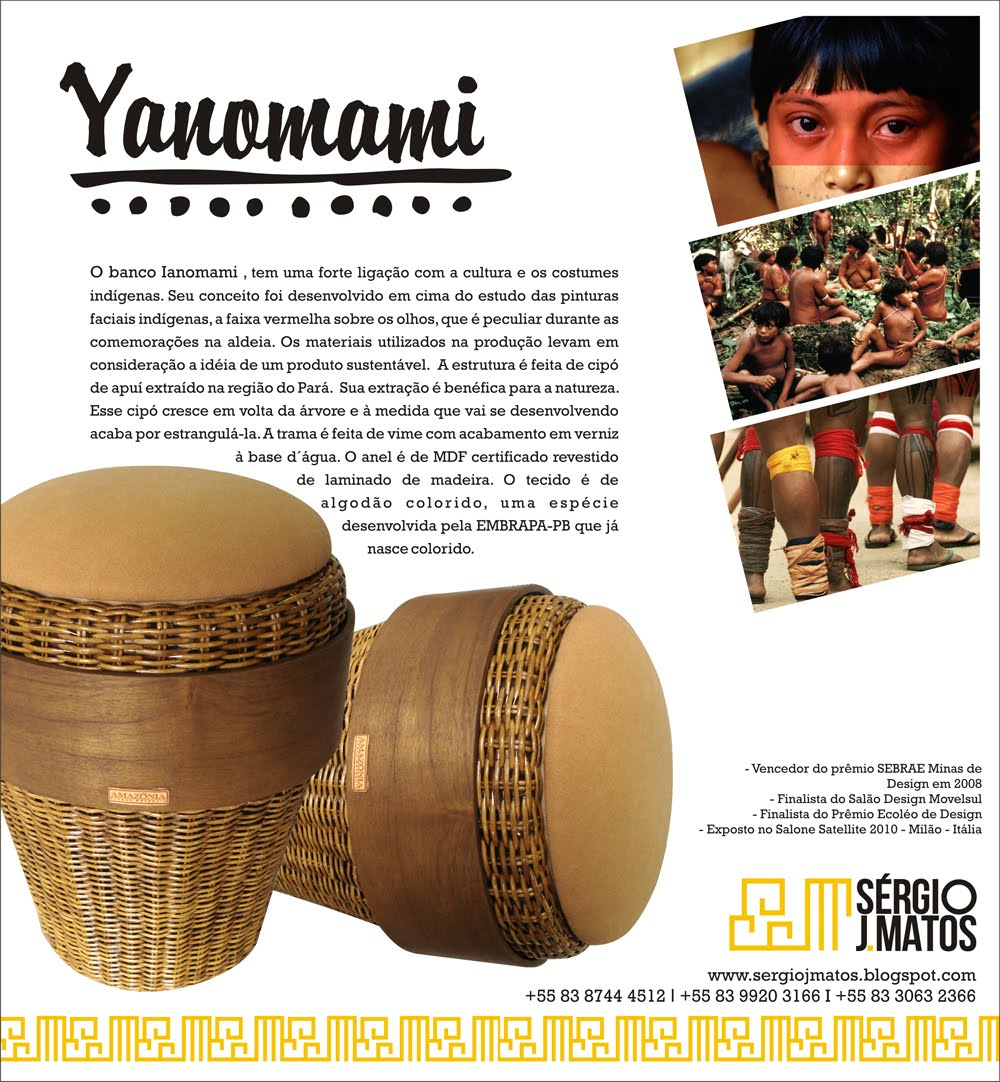 Artesanato Japoneses ~ Sérgio J Matos Designer Yanomami