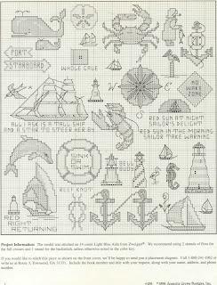 Boat cross stitch patterns free 18