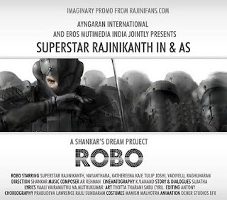 ROBO RajiniKanth Mp3 Songs Free Download