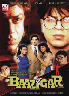 Baazigar  (1993)  Hindi Mp3 Songs Free  Download