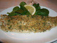Longevity Herb Crusted Fish