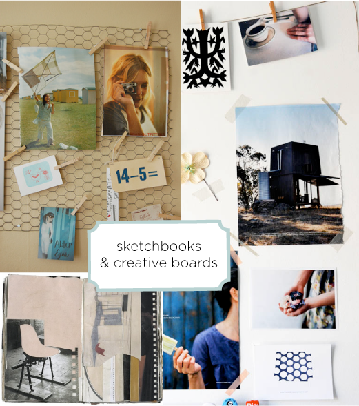 sketchbooks&amp;inspiration_boards