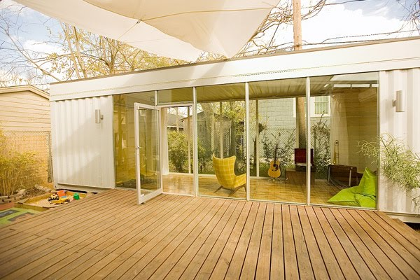 Black eiffel container living - Inside shipping container homes ...