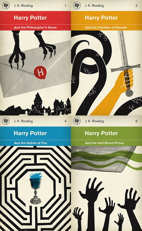 Harry Potter redesign concept