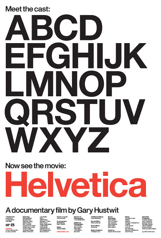 Helvetica the film