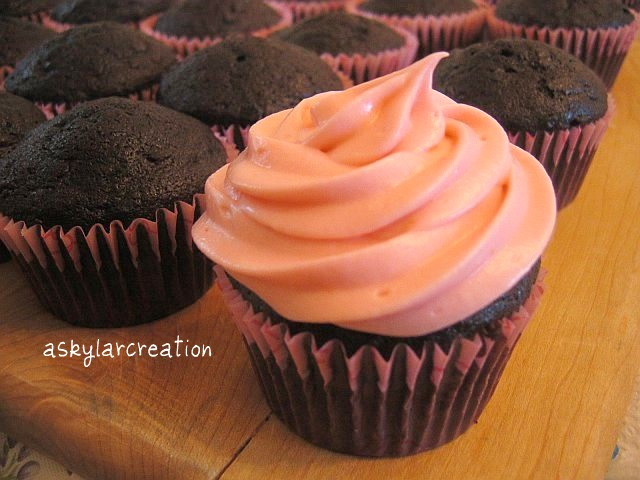 with Strawberry Cream Cheese Frosting