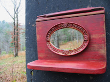 Rustic Red Shelf by Turtles Creek