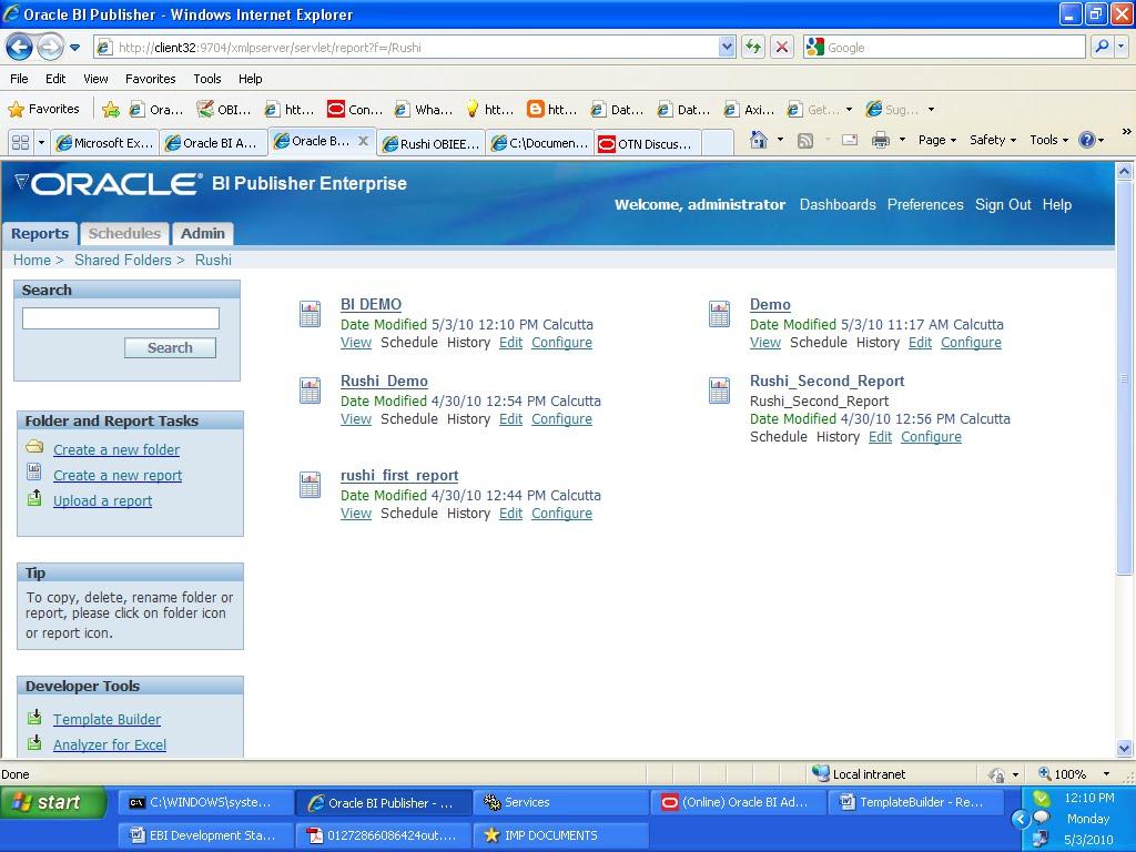 how to create bi publisher report in obiee 11g