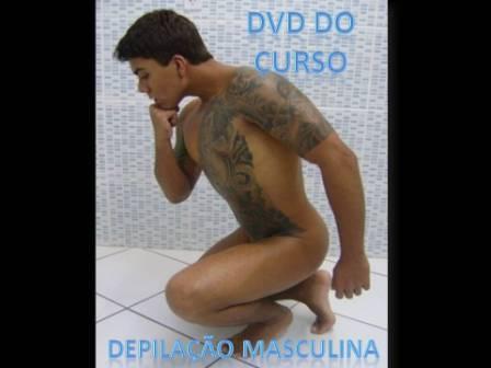 DVD DO CURSO DE DEPILAÇÃO MASCULINA