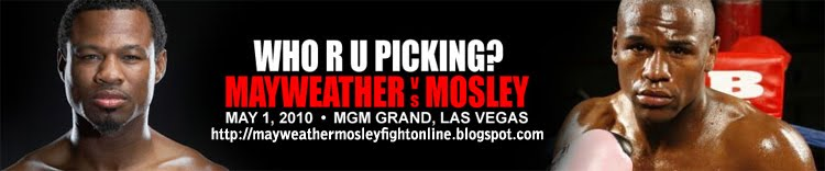 Mayweather vs Mosley Fight Online