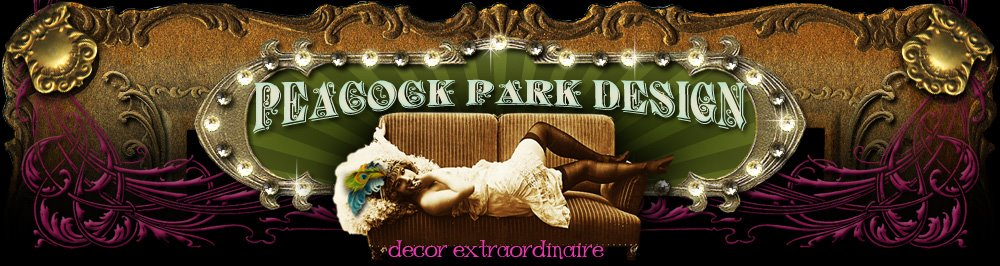 Gina Galvin's  Design Bloggatorium for Peacock Park