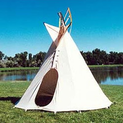 this backyard teepee makes me